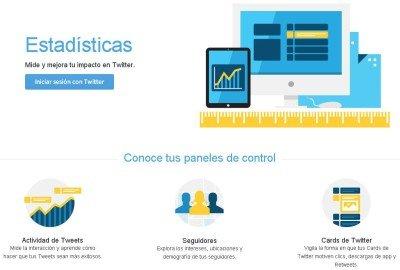 Twitter Analytics - Iniciar Sesión