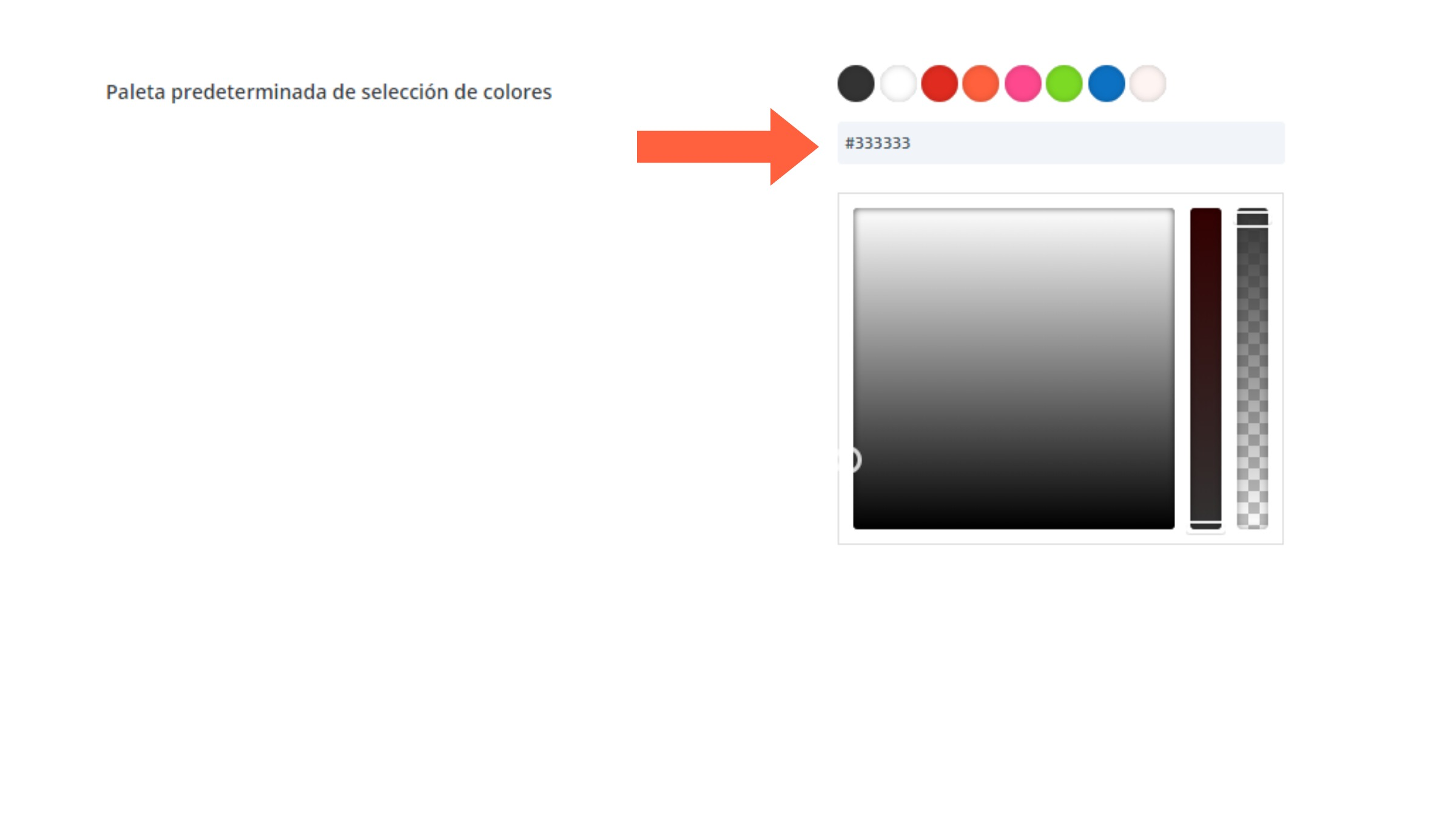 Paleta de colores tutorial Divi